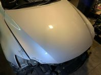 2007 LEXUS IS220 BONNET SILVER 1G1 XE20 05-12